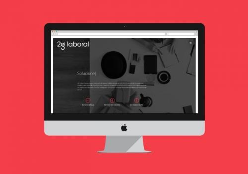 Diseño web despacho laboralista y de recursos humanos