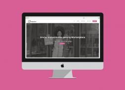 Diseño web mensajería rápida