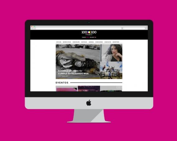 Diseño Web Revista Musical