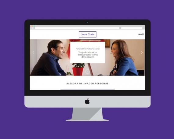 Diseño web asesora de imagen y personal shopper