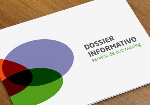 Dossier para empresa especializada en procesos de outsourcing