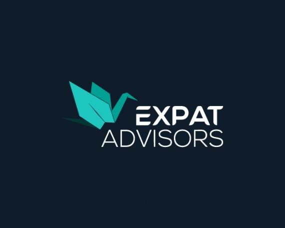 Diseño logotipo expatriados
