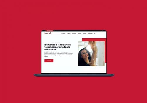 Diseño web consultoría tecnológica