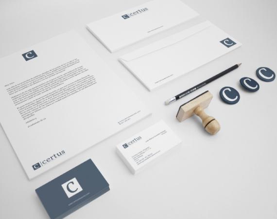 Diseño papelería empresa asesoramiento