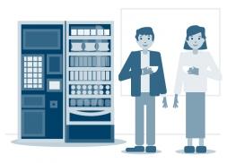 Ilustraciones para empresa de servicios alimenticios