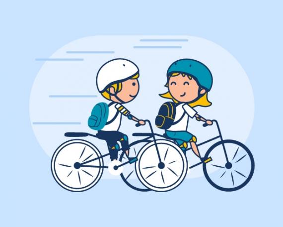 Ilustraciones para página web de educación