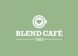 Diseño logo cafetería centro comercial