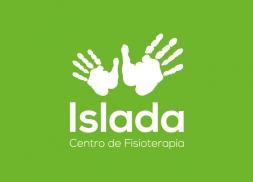Diseño logo manos para centro de fisioterapia