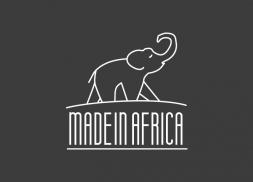 Diseño logo elefante africano