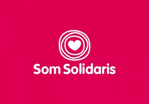 Diseño logotipo plataforma solidaria