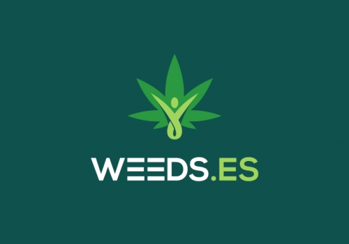 Diseño de logotipo tienda de cultivo de cannabis