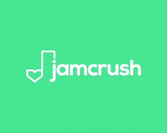 Diseño logo app de dating y música