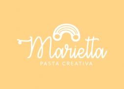 Diseño logo restaurante pasta creativa