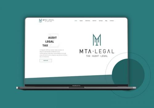 Diseño web despacho legal en Málaga