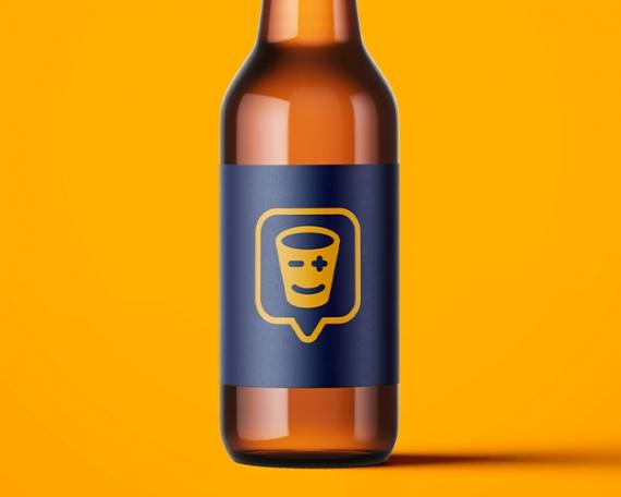 Diseño logotipo para empresa app catadora de bebidas