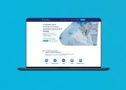 Diseño de página web para gestor de farmacias