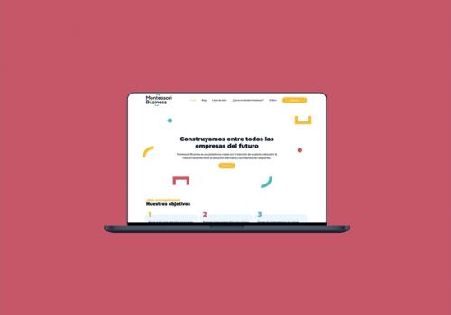 Diseño web para empresa del sector educativo