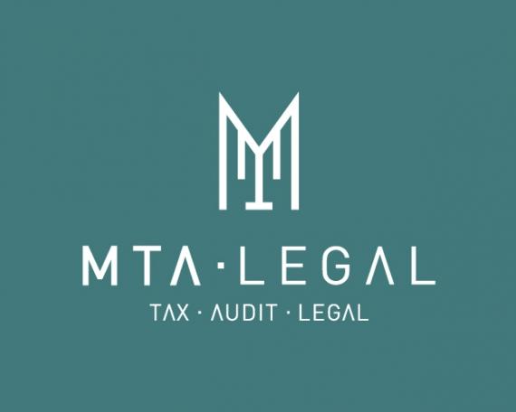 Diseño logo tax, auditoría y legal