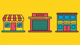 Logotipos tiendas físicas