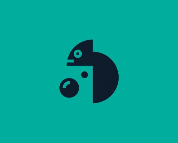 Diseño logo cámara 3D