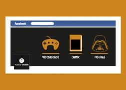Diseño de redes sociales para tienda de artículos de colección