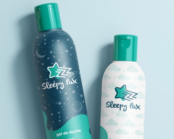 Diseño logotipo salud del sueño infantil