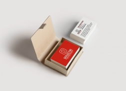 Diseño de tarjetas de visita para empresa de instalaciones eléctricas