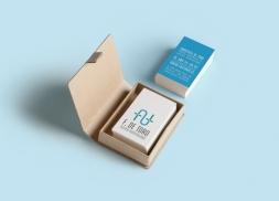 Diseño de tarjetas para empresa de gestión hospitalaria