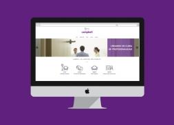Desarrollo y diseño web alquiler de gabinetes para psicólogos