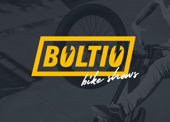 Diseño logotipo show de bicicletas