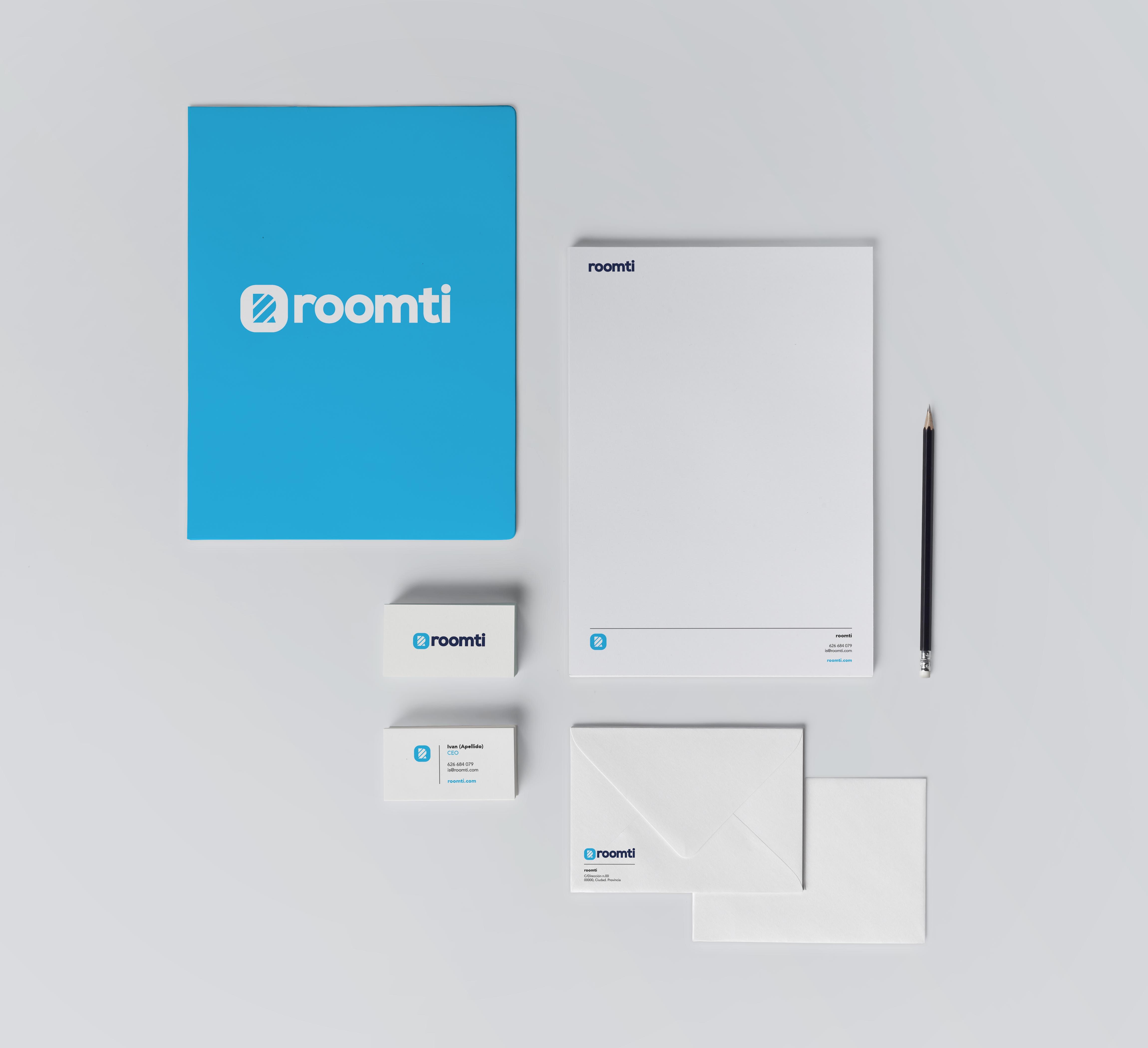 Diseño de logotipo e identidad corporativa empresa de servicios apartamentos turísticos