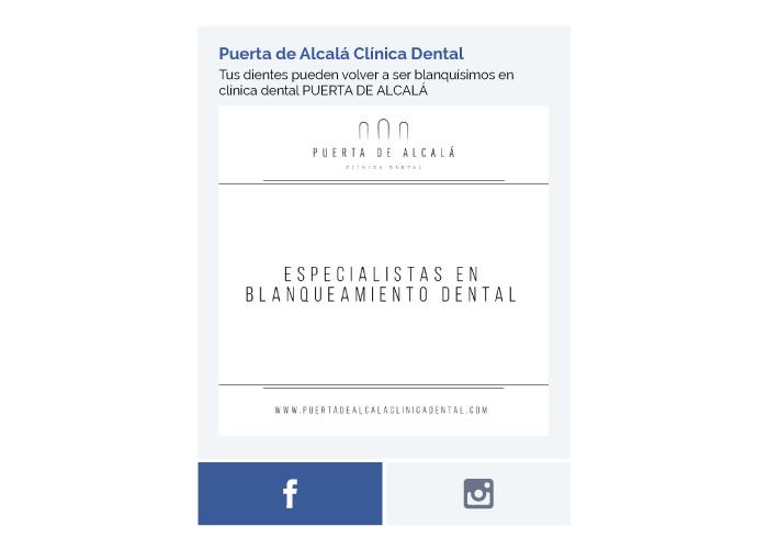 Gestión de redes sociales para clínica dental