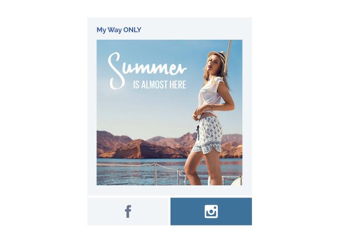 Campaña de facebook para tienda ONLY de moda en Almería