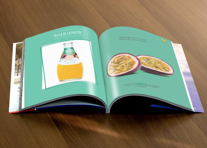 Diseño de catalogo de bebidas