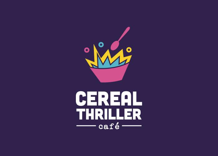 Logotipo cereales café