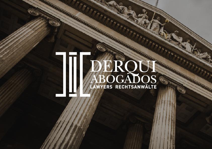 Diseño logo columna abogado