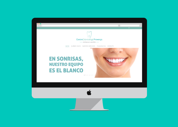 Diseño web clínica dental