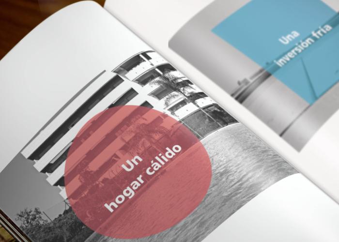 diseño de dossier informativo para inmobiliaria de lujo en málaga