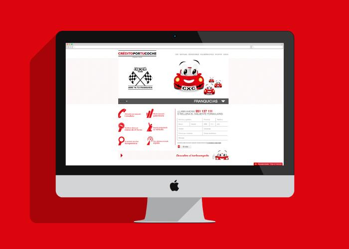 Desarrollo web financiación de coches