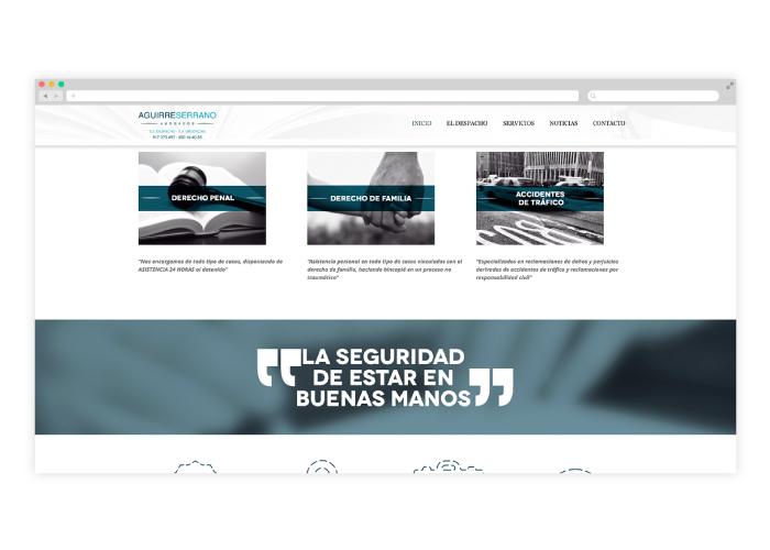 Diseño web abogada Madrid