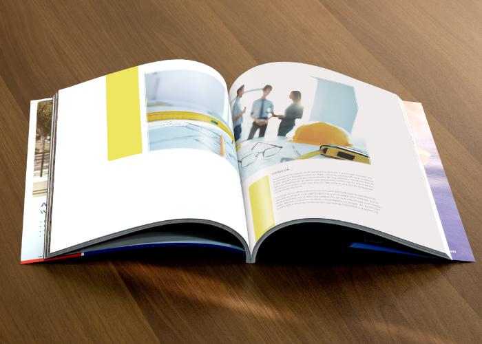 Diseño de dossier para cooperativa de construcción en Andalucía