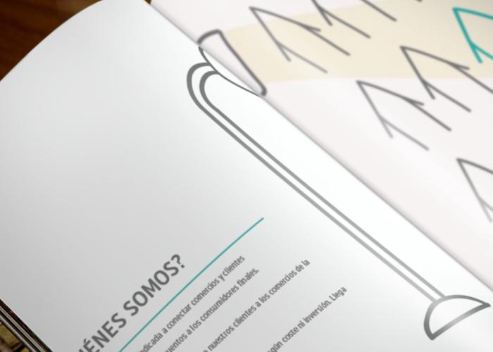 Diseño de dossier para portal de ventas colectivas