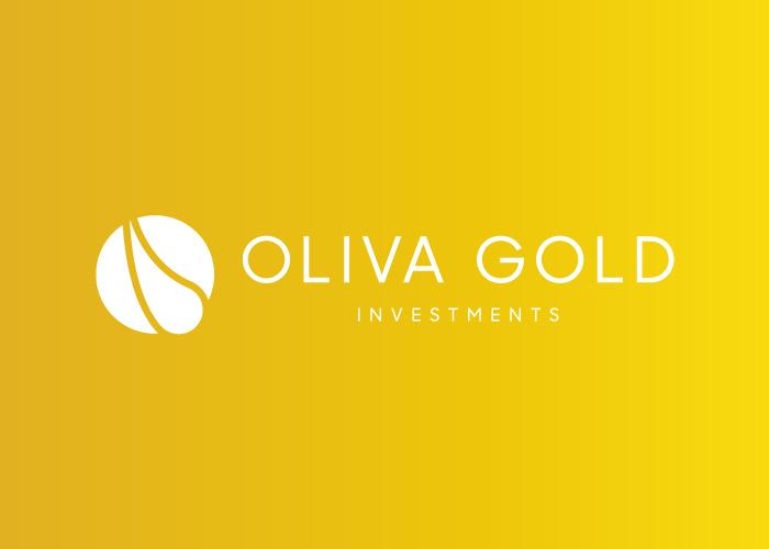 Diseño de logotipo para una empresa de venta de aceite de oliva