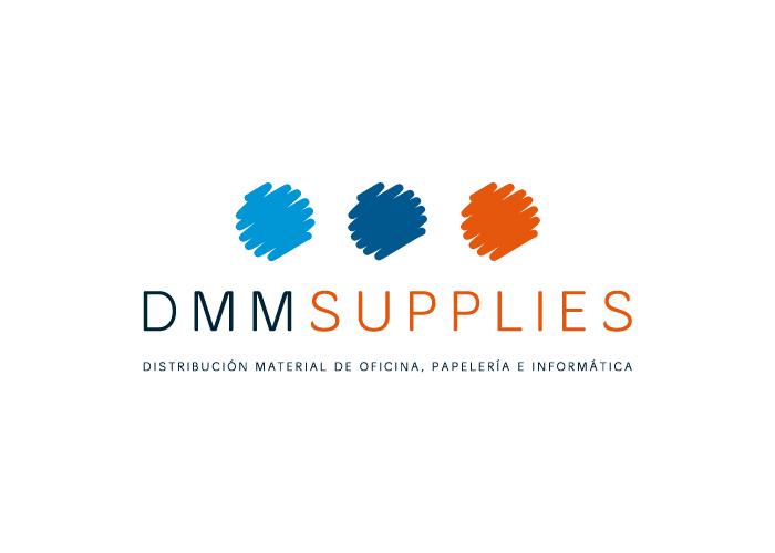 Diseño de logotipo para empresa de distribución de material de oficina