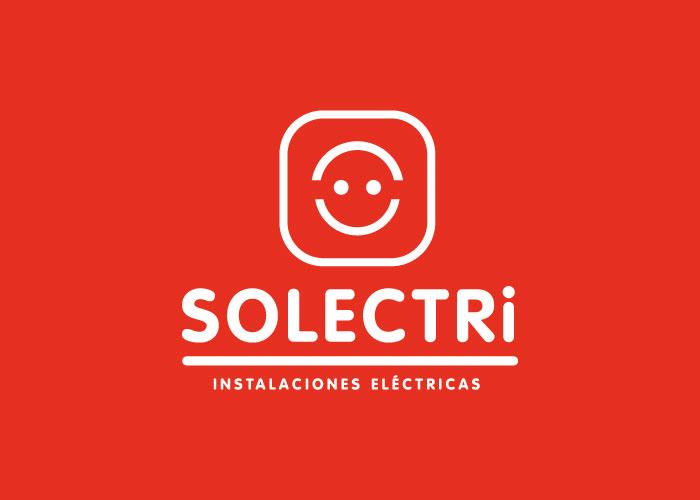 Diseño de logotipo para empresa de instalaciones eléctricas en Málaga