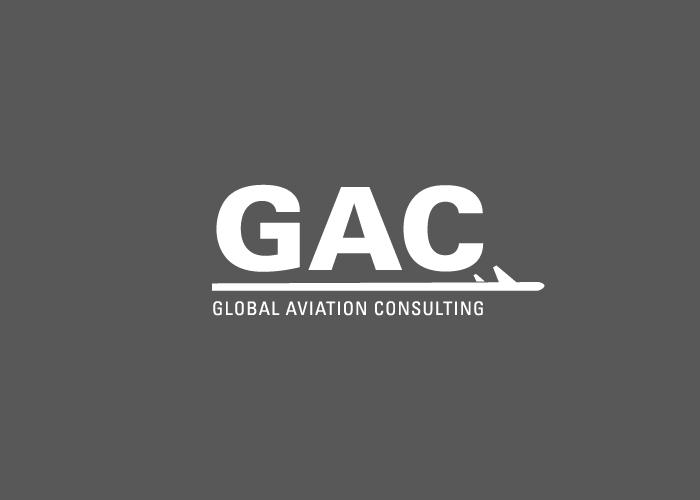 dc0bc962b Diseño de logotipo para empresa de consulta de aviación - Factoryfy