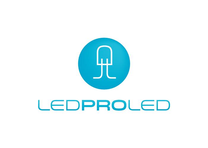 Diseño logotipo empresa de iluminación LED
