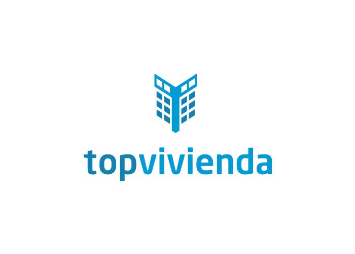 Diseño de logotipo de un portal inmobiliario