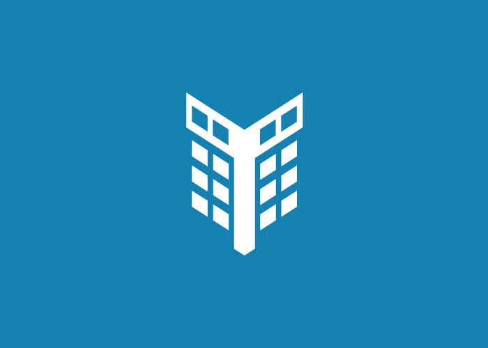 Dise o de logotipo de un portal inmobiliario factoryfy for El portal inmobiliaria