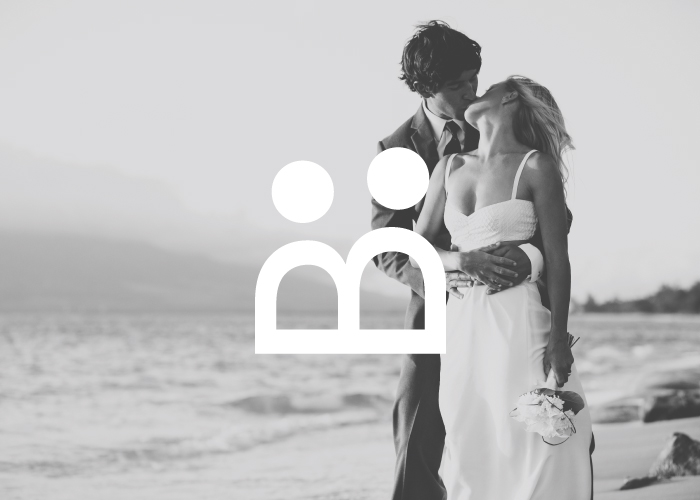 Diseño de logotipo para empresa organizadora de Bodas en Málaga